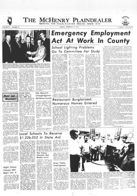 McHenry Plaindealer (McHenry, IL), 17 Sep 1971