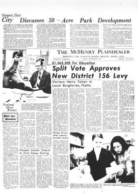 McHenry Plaindealer (McHenry, IL), 24 Sep 1971