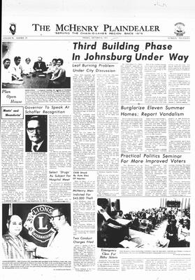 McHenry Plaindealer (McHenry, IL), 8 Oct 1971