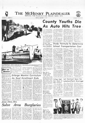 McHenry Plaindealer (McHenry, IL), 22 Oct 1971