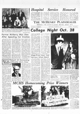 McHenry Plaindealer (McHenry, IL), 27 Oct 1971