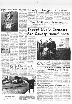 McHenry Plaindealer (McHenry, IL), 5 Nov 1971