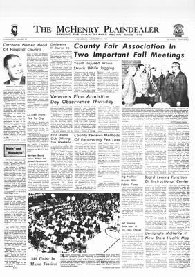 McHenry Plaindealer (McHenry, IL), 10 Nov 1971