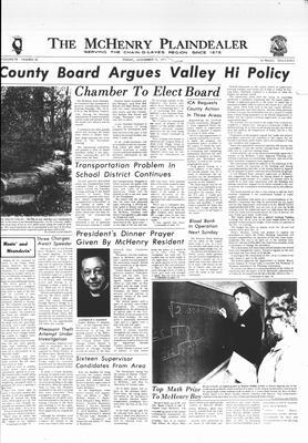 McHenry Plaindealer (McHenry, IL), 12 Nov 1971