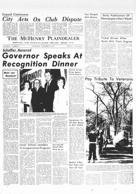 McHenry Plaindealer (McHenry, IL), 17 Nov 1971