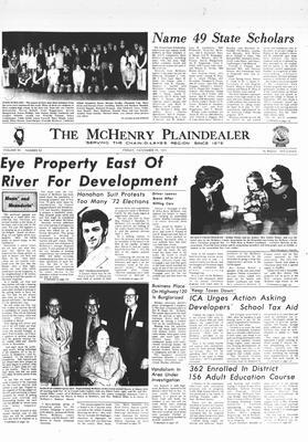 McHenry Plaindealer (McHenry, IL), 19 Nov 1971