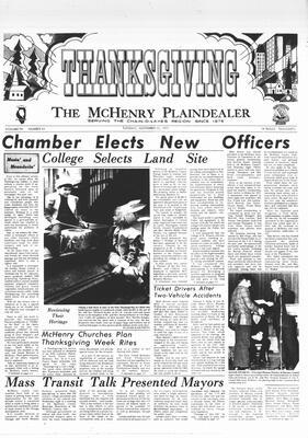 McHenry Plaindealer (McHenry, IL), 23 Nov 1971
