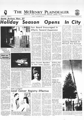 McHenry Plaindealer (McHenry, IL), 26 Nov 1971