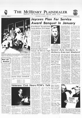 McHenry Plaindealer (McHenry, IL), 8 Dec 1971