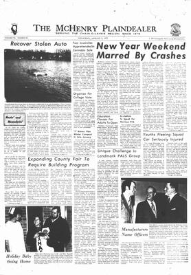 McHenry Plaindealer (McHenry, IL), 5 Jan 1972