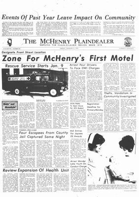 McHenry Plaindealer (McHenry, IL), 7 Jan 1972