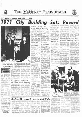 McHenry Plaindealer (McHenry, IL), 19 Jan 1972