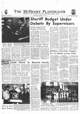 McHenry Plaindealer (McHenry, IL), 16 Feb 1972