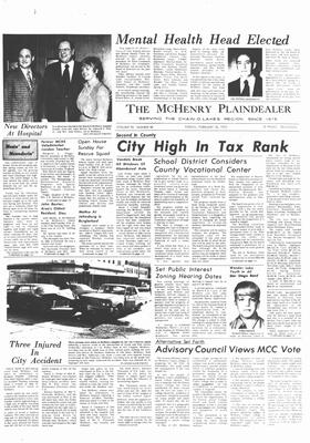 McHenry Plaindealer (McHenry, IL), 18 Feb 1972