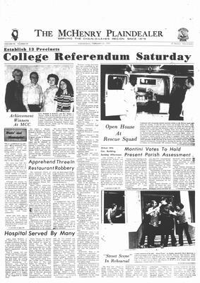 McHenry Plaindealer (McHenry, IL), 23 Feb 1972