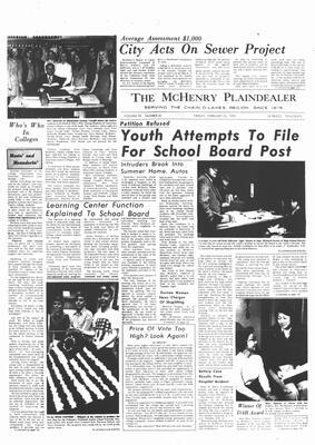 McHenry Plaindealer (McHenry, IL), 25 Feb 1972