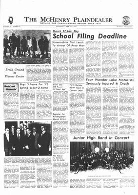 McHenry Plaindealer (McHenry, IL), 15 Mar 1972