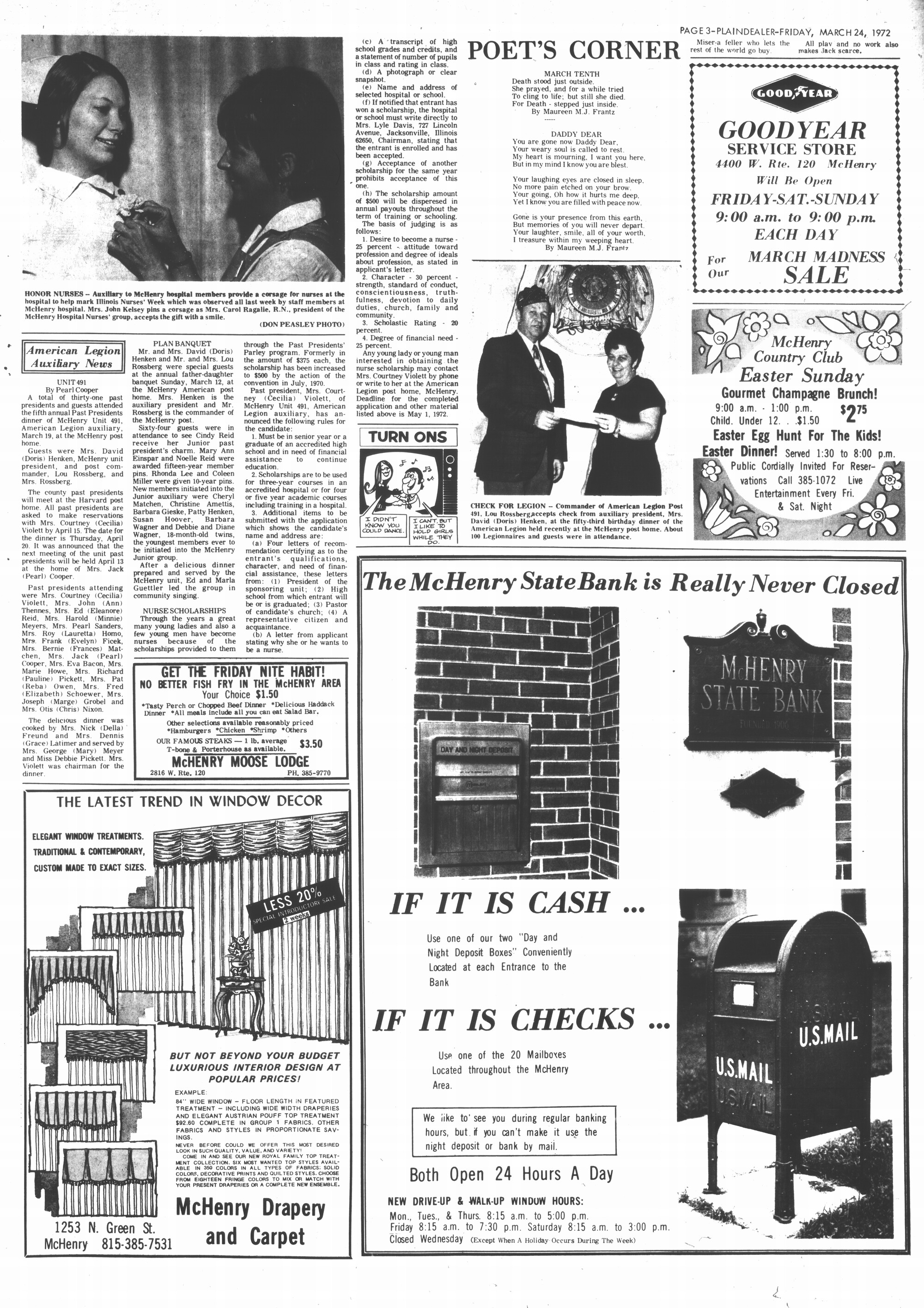 McHenry Plaindealer (McHenry, IL), 24 Mar 1972