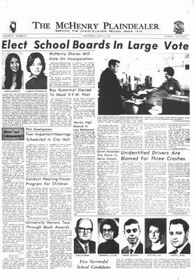 McHenry Plaindealer (McHenry, IL), 12 Apr 1972