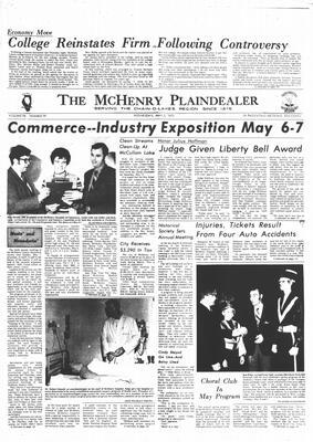 McHenry Plaindealer (McHenry, IL), 3 May 1972