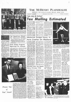 McHenry Plaindealer (McHenry, IL), 24 May 1972