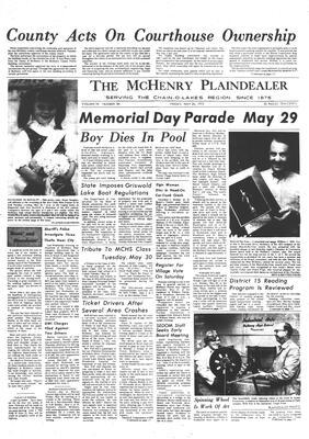 McHenry Plaindealer (McHenry, IL), 26 May 1972