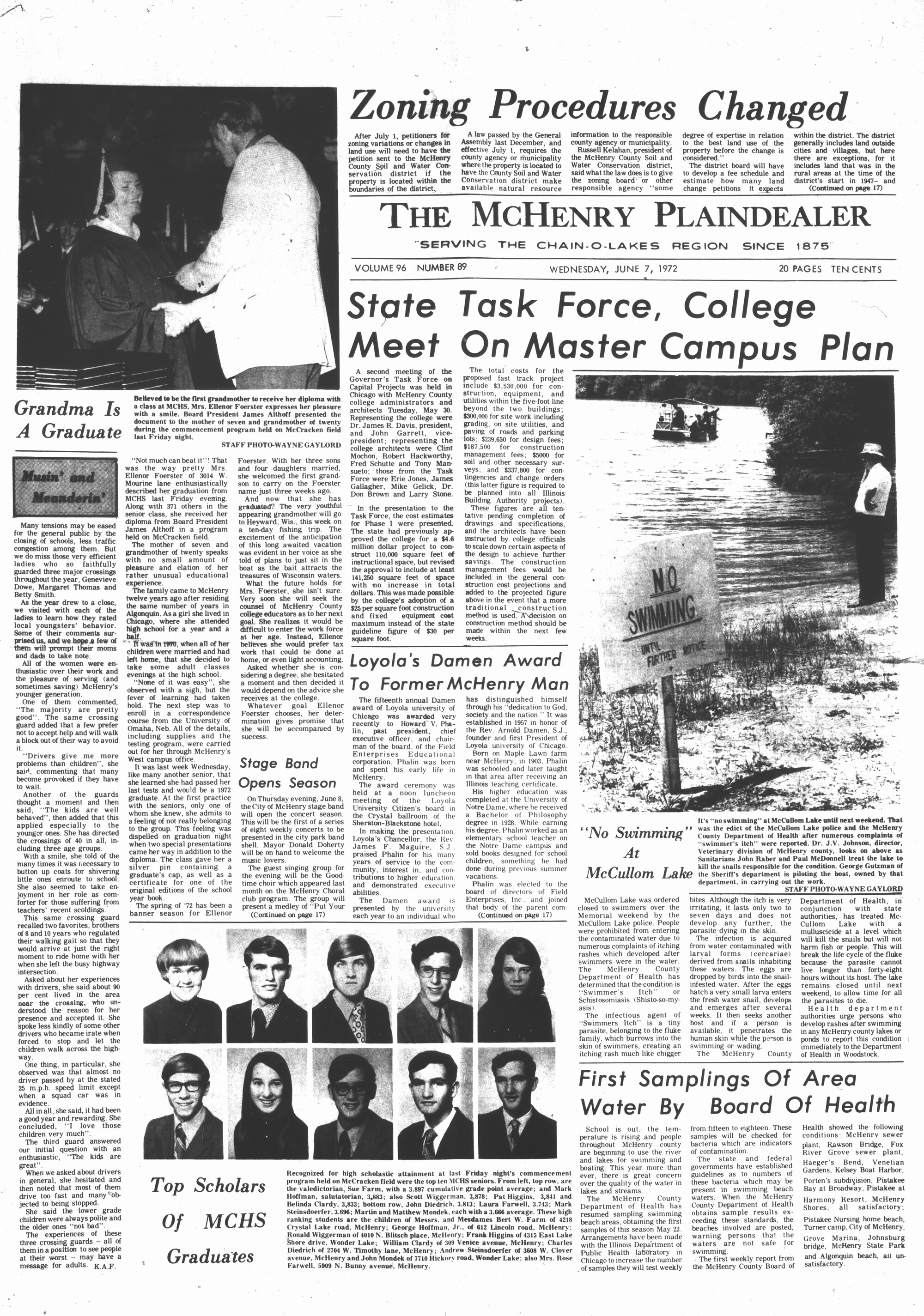 McHenry Plaindealer (McHenry, IL), 7 Jun 1972