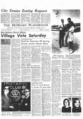 McHenry Plaindealer (McHenry, IL), 9 Jun 1972