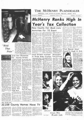 McHenry Plaindealer (McHenry, IL), 14 Jun 1972