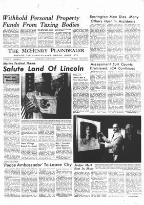 McHenry Plaindealer (McHenry, IL), 28 Jun 1972
