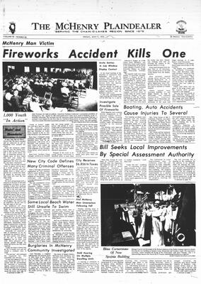 McHenry Plaindealer (McHenry, IL), 7 Jul 1972