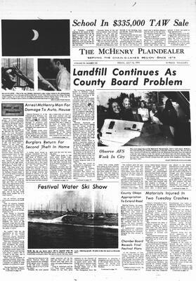 McHenry Plaindealer (McHenry, IL), 14 Jul 1972