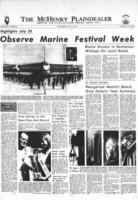 McHenry Plaindealer (McHenry, IL), 19 Jul 1972