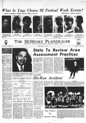 McHenry Plaindealer (McHenry, IL), 21 Jul 1972