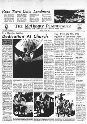 McHenry Plaindealer (McHenry, IL), 28 Jul 1972