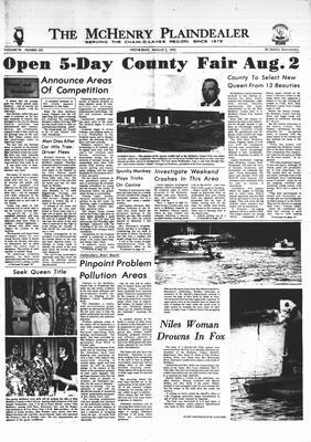 McHenry Plaindealer (McHenry, IL), 2 Aug 1972
