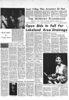 McHenry Plaindealer (McHenry, IL), 4 Aug 1972