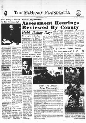 McHenry Plaindealer (McHenry, IL), 11 Aug 1972