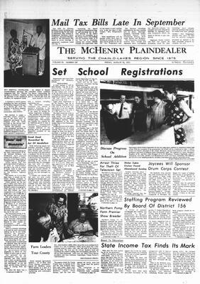 McHenry Plaindealer (McHenry, IL), 18 Aug 1972