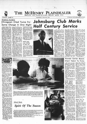 McHenry Plaindealer (McHenry, IL), 23 Aug 1972