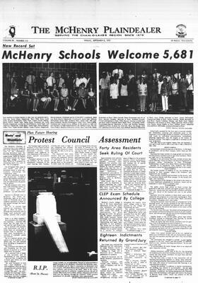 McHenry Plaindealer (McHenry, IL), 8 Sep 1972