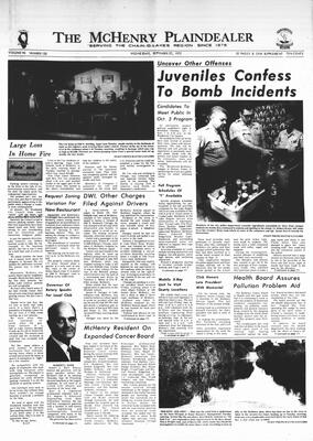 McHenry Plaindealer (McHenry, IL), 27 Sep 1972