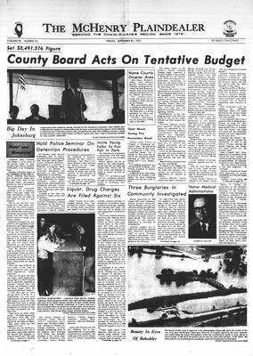 McHenry Plaindealer (McHenry, IL), 29 Sep 1972