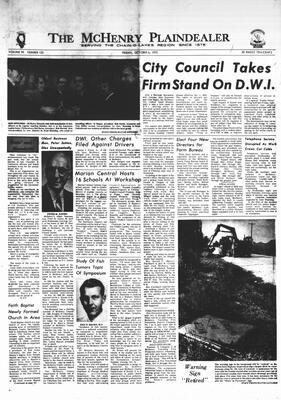 McHenry Plaindealer (McHenry, IL), 6 Oct 1972