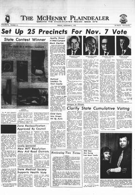 McHenry Plaindealer (McHenry, IL), 3 Nov 1972