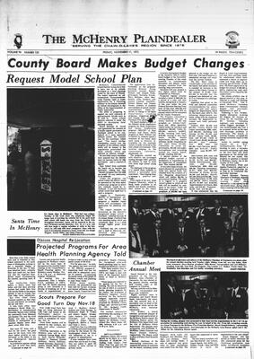 McHenry Plaindealer (McHenry, IL), 17 Nov 1972