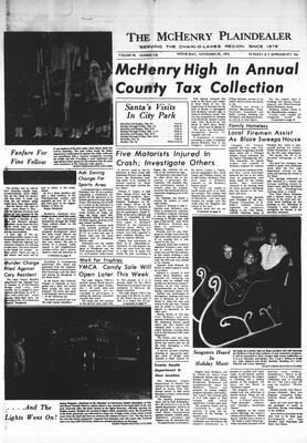 McHenry Plaindealer (McHenry, IL), 29 Nov 1972