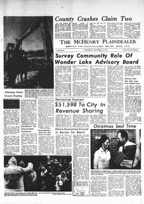 McHenry Plaindealer (McHenry, IL), 13 Dec 1972