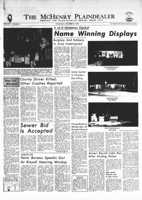 McHenry Plaindealer (McHenry, IL), 20 Dec 1972