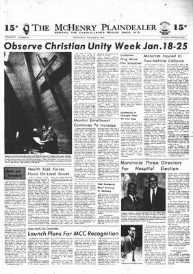 McHenry Plaindealer (McHenry, IL), 17 Jan 1973